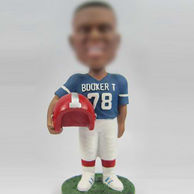 Personalized sports bobblehead doll