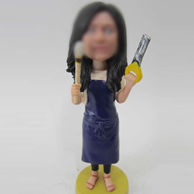 Renovated bobble head doll