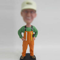Repairman bobblehead doll