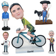 Set of 100 Different Bobbleheads
