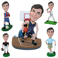 Set of 20 Different Bobbleheads