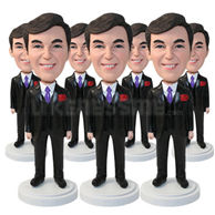 Set of 30 Identical Bobbleheads