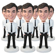 Set of 50 Identical Bobbleheads