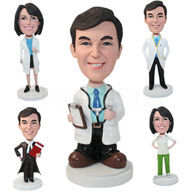 Set of 30 Different Bobbleheads