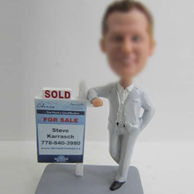Sold man bobble head doll
