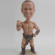 Warrior bobble head doll
