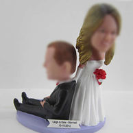 Wedding cake bobble