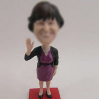 Woman bobbleheads doll