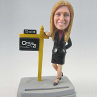 Women business bobbleheads