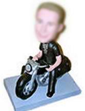 Custom Bobblehead Motorcycle w58-11143