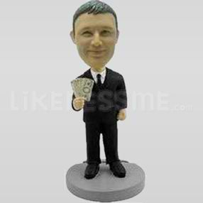 personalised bobble head doll-11295