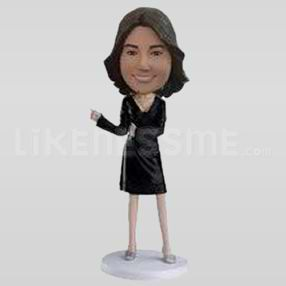 Custom Bobblehead Woman Outfit 6-11347