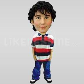 Casual Bobble Head Doll 6-11610