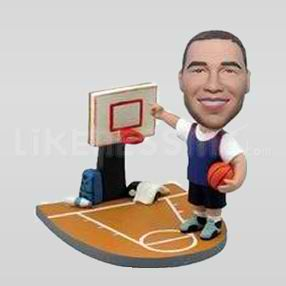 Custom Bobblehead Basketball-10755