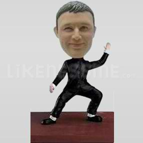 Custom Bobblehead Martial Arts 1-10817